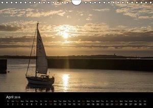 Helgoland Idyllic North Sea Island (Wall Calendar 2016 DIN A4 La