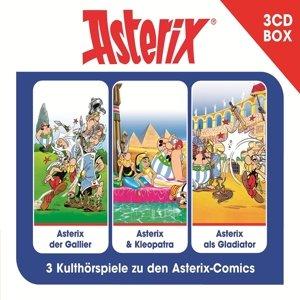 ASTERIX - 3-CD HÖRSPIELBOX VOL. 1