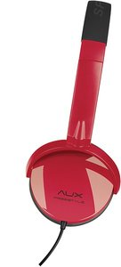AUX - FREESTYLE Stereo Headset, black-red SL-8752-BKRD
