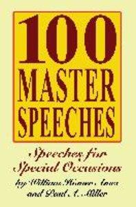 100 Master Speeches