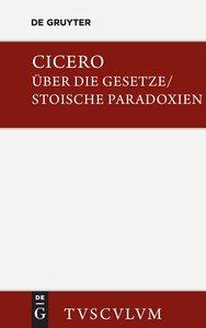 De legibus / Über die Gesetze