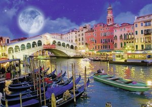 Vollmond in Venedig. Puzzle 1200 Teile