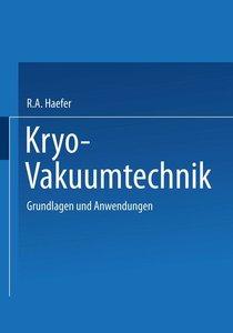 Kryo-Vakuumtechnik
