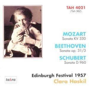 Clara Haskil auf dem Edinburgh-Festival