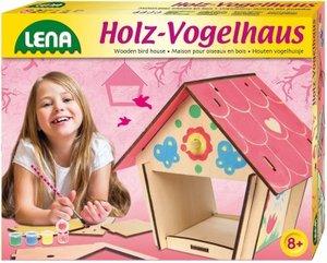Simm 42570 - Lena: Kreativset Holz-Vogelhaus