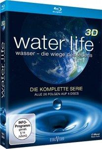 Water Life 3D-Die komplette Serie (Blu-ray 3D)
