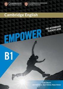Cambridge English Empower. Teachers's Book (B1)