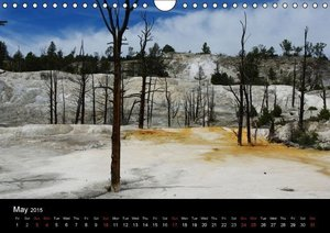 Wyoming! / UK-Version (Wall Calendar 2015 DIN A4 Landscape)