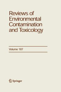 Reviews of Environmental Contamination and Toxicology 187