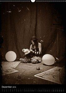 ClownCH-Version (Wandkalender 2016 DIN A3 hoch)