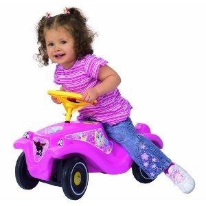 BIG 56029 - Bobby-Car Classic Girlie, pink