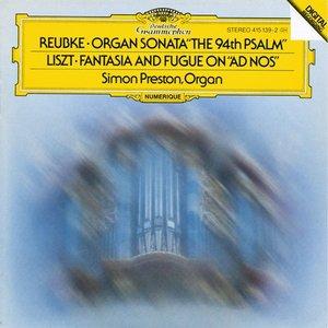"""Liszt: Fantasie Und Fuge """"Ad Nos"""""""