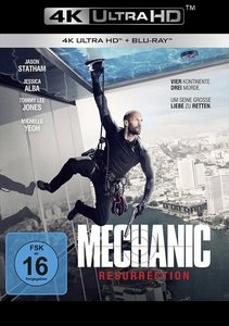 Mechanic: Resurrection UHD Blu-ray