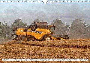 Landmaschinen zum Anfassen nah