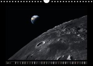 Moon Orbital Views (Wall Calendar 2015 DIN A4 Landscape)