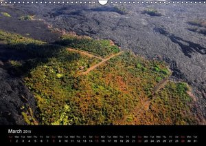 Volcanic Landscapes of Hawaii - UK Version (Wall Calendar 2015 D