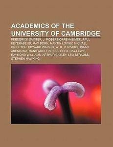 Academics of the University of Cambridge