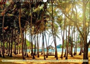 Reise in die Karibik - von den Bahamas bis Aruba (Wandkalender 2
