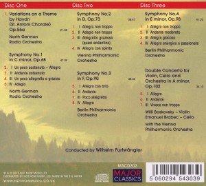 Haydn-Variationen/Sämtliche Sinfonien 1-4 (GA)