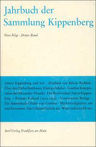 Jahrbuch der Sammlung Kippenberg III. Neue Folge
