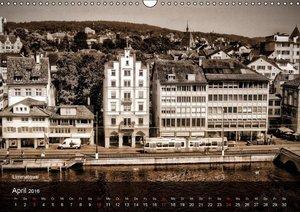 Gutes altes ZürichCH-Version (Wandkalender 2016 DIN A3 quer)