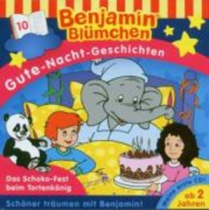 Benjamin Blümchen. Gute-Nacht-Geschichten 10. CD
