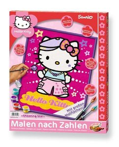 Schipper 609330528 - Hello Kitty: Shooting Star, MNZ, Malen nach