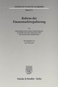 Reform der Finanzmarktregulierung