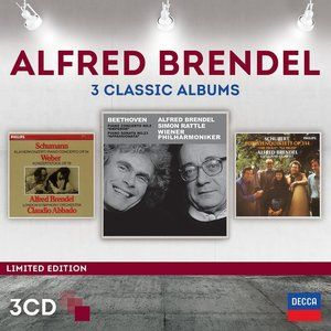 Alfred Brendel-3 Classic Albums (Ltd.Edt.)