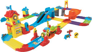 VTech 146704 - Tut Baby Züge: Bahnhof mit Zug