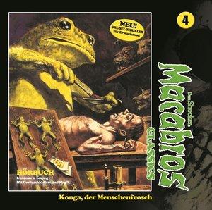 Macabros Classics-Konga,der Menschenfrosch Fol