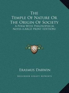 The Temple Of Nature Or The Origin Of Society