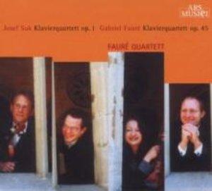 Suk/Faure: Klavierquartette op.1/op.45