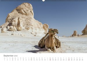 Impressionen - Weiße Wüste (Wandkalender 2016 DIN A2 quer)