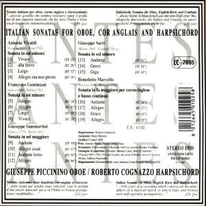 Ital.Sonaten Für Oboe