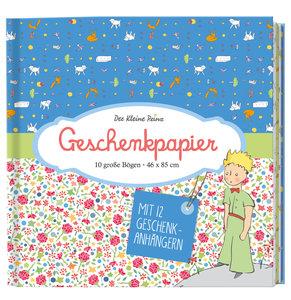 Der Kleine Prinz Geschenkpapier-Buch