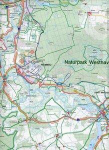 Naturpark Westhavelland Süd 1 : 50 000