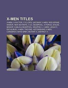 X-Men titles