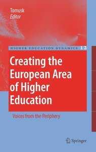 Creating the European Area of Higher Education
