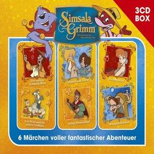 Simsalagrimm 3-CD Hörspielbox Vol.2