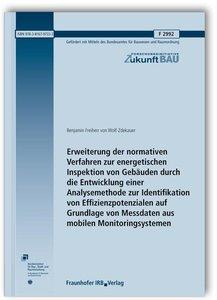 Erweiterung der normativen Verfahren zur energetischen Inspektio