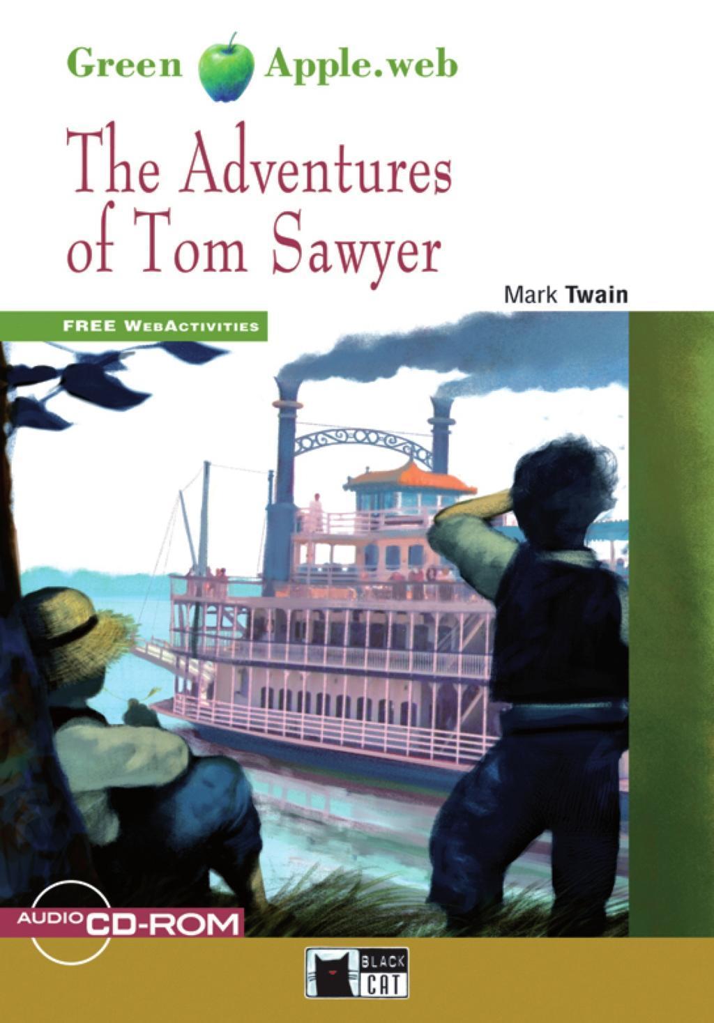 Twain, M: Adventures of Tom Sawyer - zum Schließen ins Bild klicken