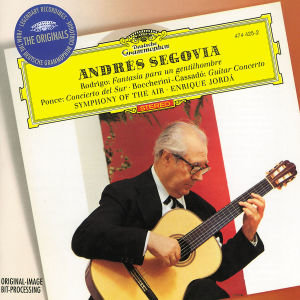 Andres Segovia Plays