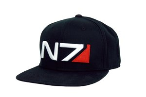 Mass Effect: Andromeda - Baseball Cap N7-Logo - Schwarz