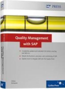 Hölzer, M: Quality Management with SAP