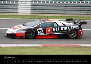 Motorsport aus Sant'Agata (Tischkalender 2016 DIN A5 quer)