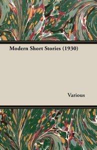 Modern Short Stories (1930)