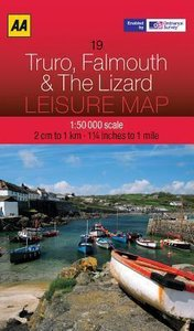 Leisure Map WK 19 Truro, Falmouth 1 : 50 000