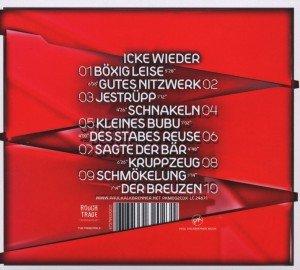 ICKE WIEDER (Deluxe Digipak Edition)