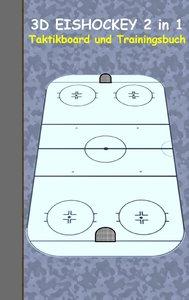 Eishockey: 2 in 1 Notiz- und Taktikblock im Pocketformat (Postka